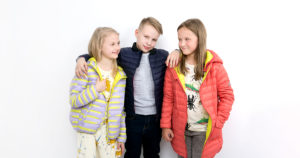 Pengu.IN KIDS light down coats and jackets are perfect with windy weather and keep your child warm.