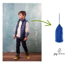 Pengu.IN KIDS light down jacket is perfect for traveling and with very different weather.