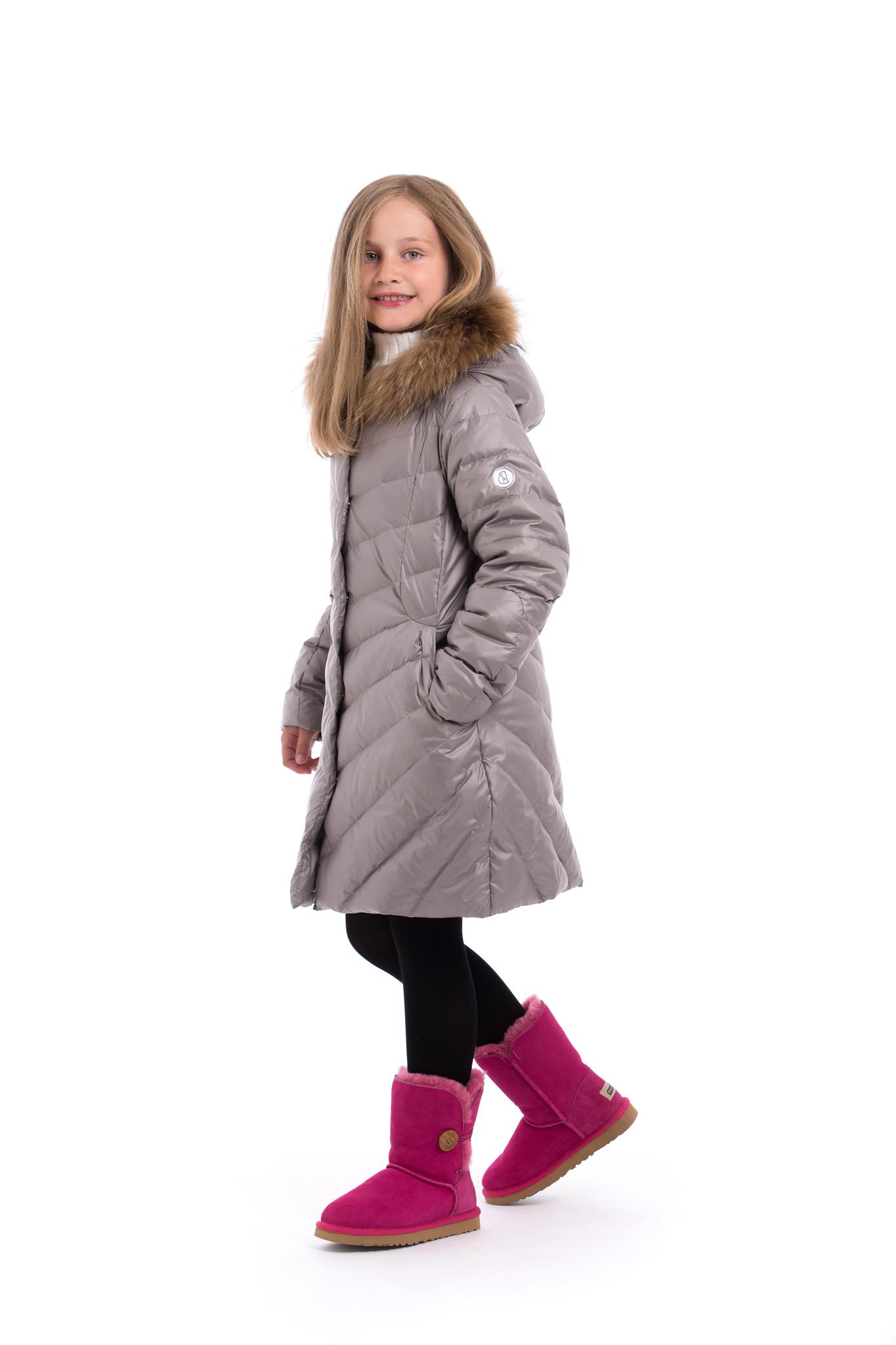 Pengu.IN KIDS down coat