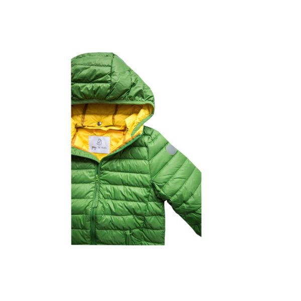 Pengu KIDS green down jacket
