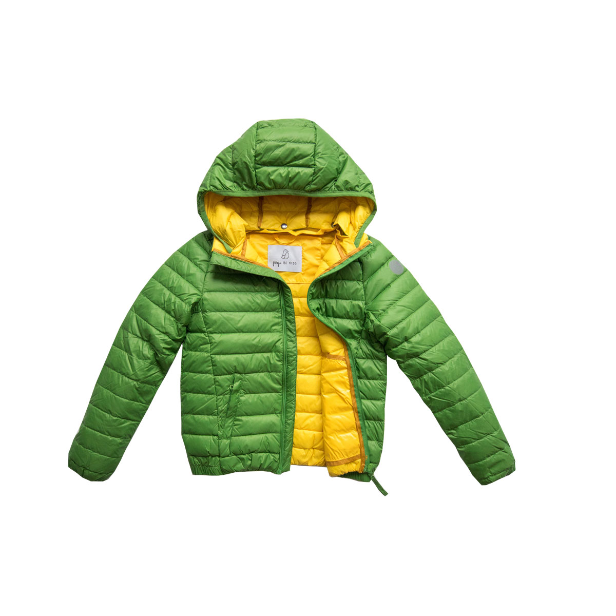 Pengu KIDS green ultra light down jacket