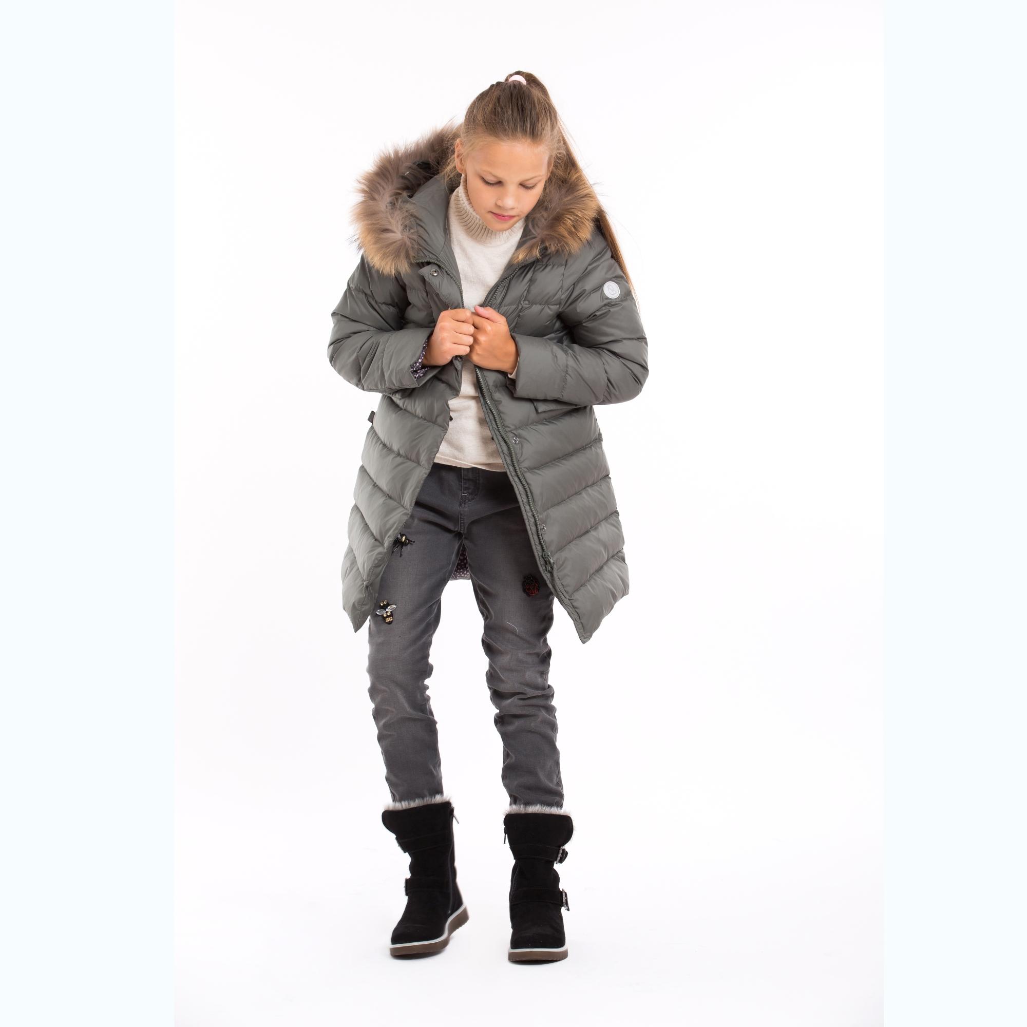 55a683240 Winter down coat KATA in KHAKI GREEN