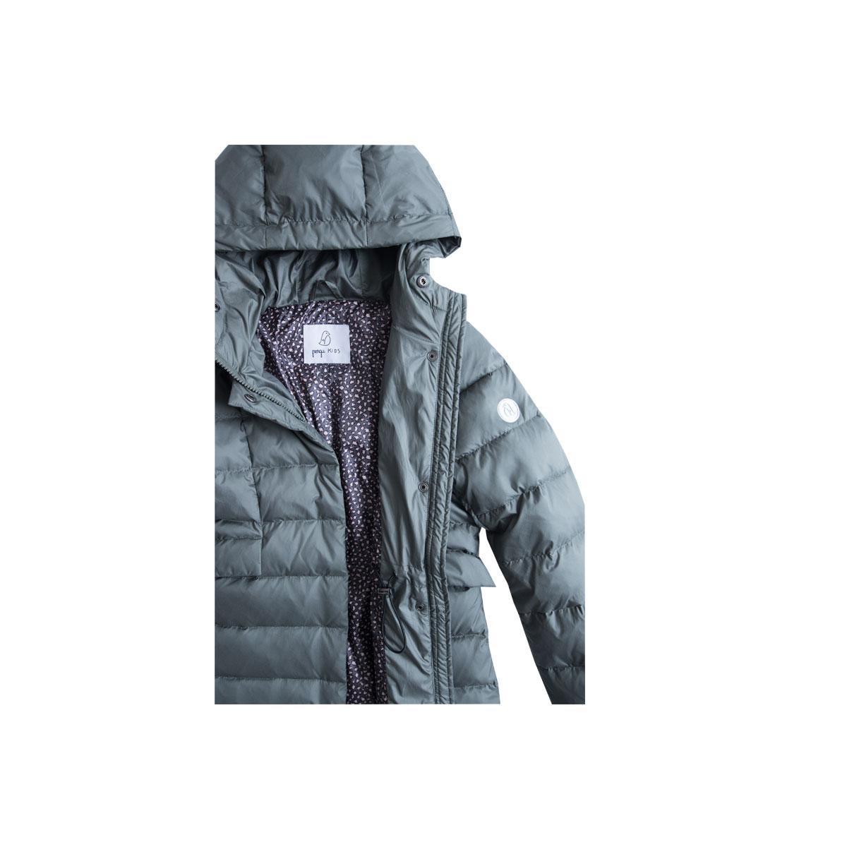 c9966f9d2 Pengu-KIDS-winter-down-coat-kata-khaki-detail | Pengu KIDS